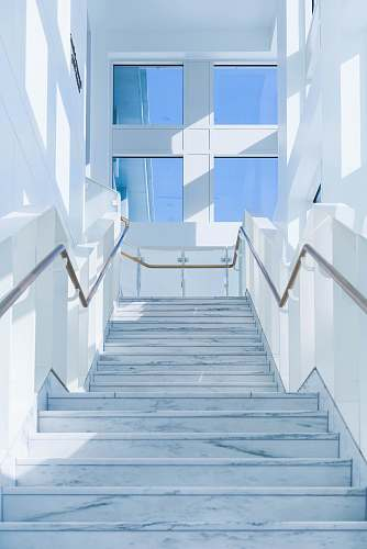 window white wall paint stairs building