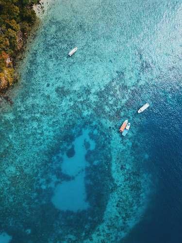 sea aerial photo of body of water kota kinabalu