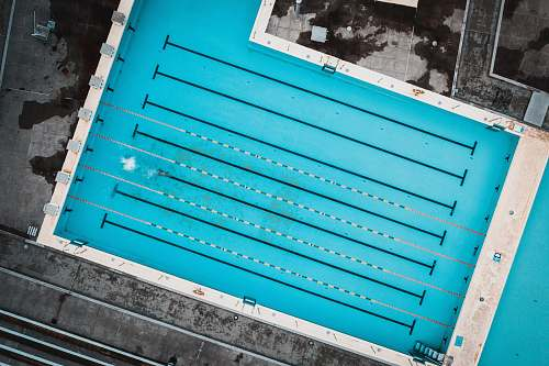 water aerial photo of swimming pool pool