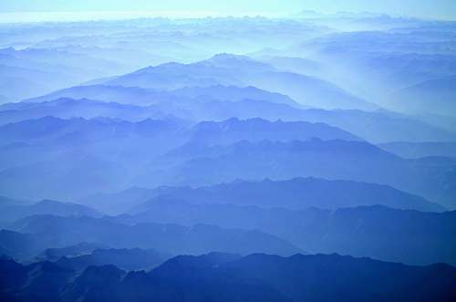 nature aerial photography of mountain outdoors