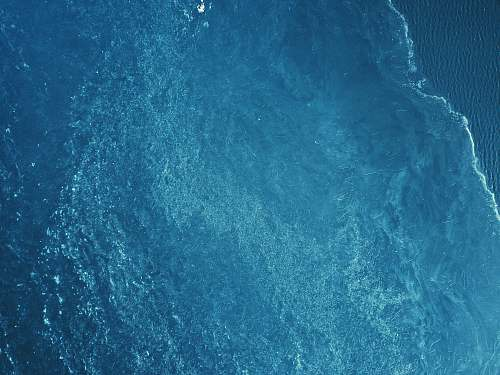 nature bird's-eye view of body of water water