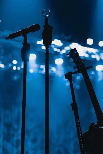 microphone black wireless microphone spotlight