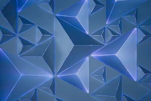 triangle blue abstract wallpaper dallas