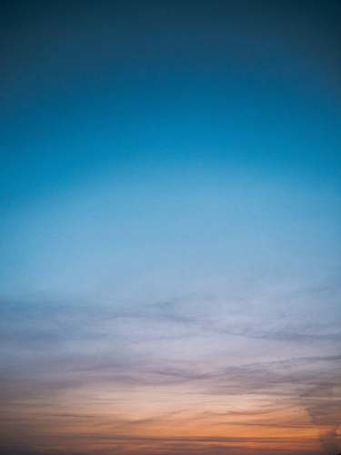 sky blue sky and white clouds photography sunset