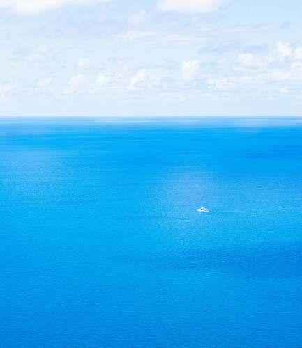 water boat on sea australia