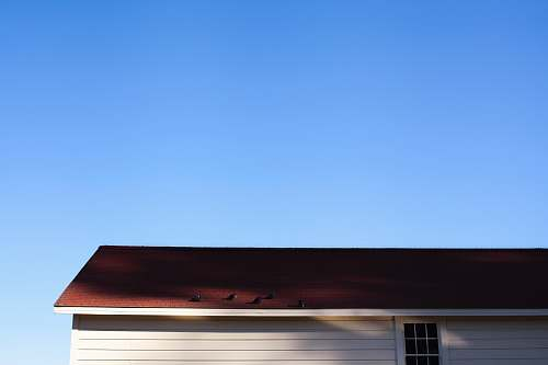 blue sky brown wooden roof san francisco