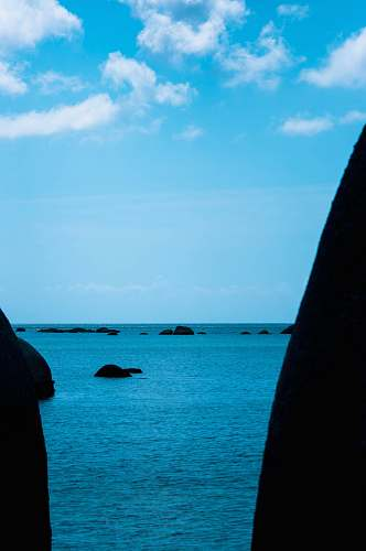 ocean calm body of water nature