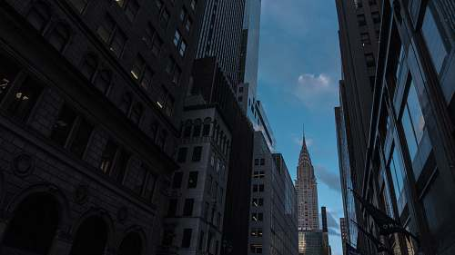 building Chrysler Building, New York city