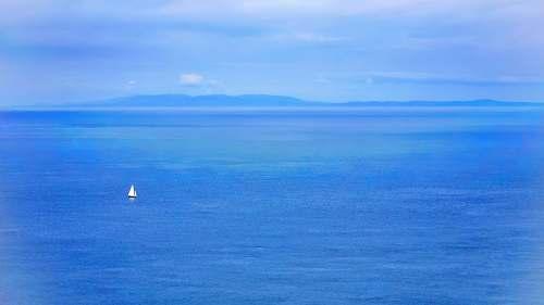 vehicle clear blue sea transportation