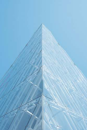 copenhagen clear glass pyramid building denmark