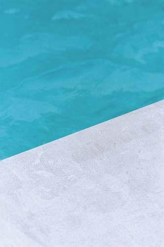 texture empty gray floor beside pool pool