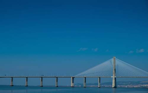 lisbon gray concrete bridge during daytime portugal