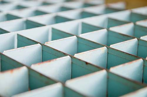 cube gray metal cube container pattern