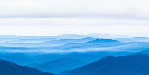australia landscape photography of mountains mountain