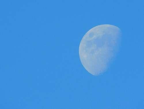 astronomy moon on sky moon