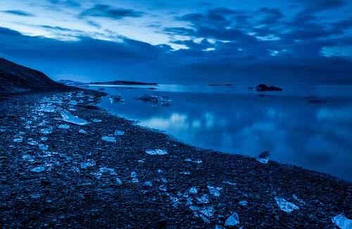 ocean panoramic photo of beach sea