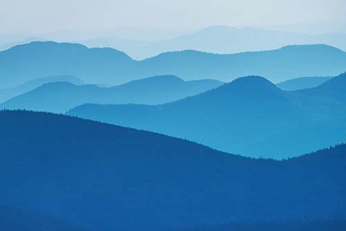 background panoramic photography of mountains mountain