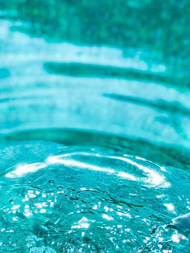 water shallow focus of water ripple