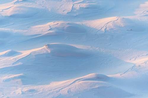 snow snow field during daytime winter