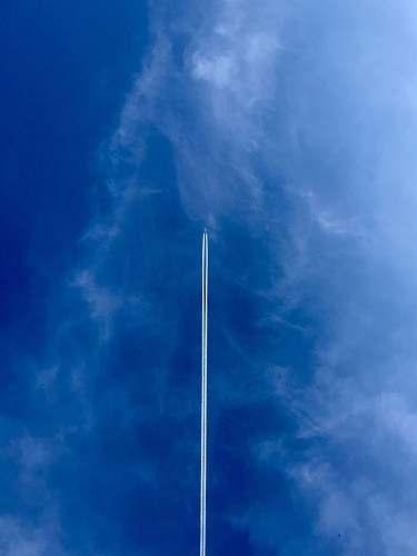 nature straight line smoke show during daytime moorring 19