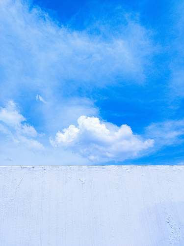 nature white and blue cloudy sky outdoors
