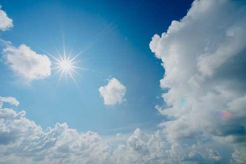sky white and blue cloudy sky cloud