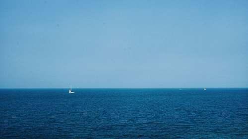 boat white boat on calm ocean transportation