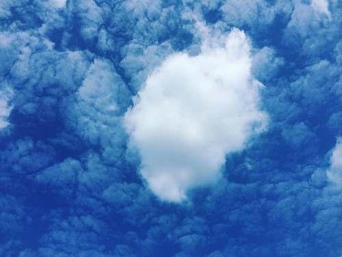 sky white clouds cloud