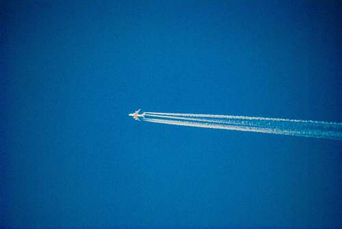 aircraft white jet plane airplane