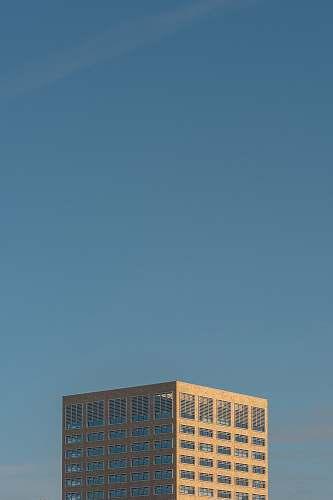 blue brown building under blue sky nature