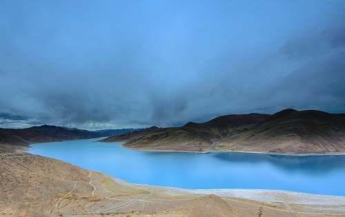 landscape lake and landscape long exposure photography lake
