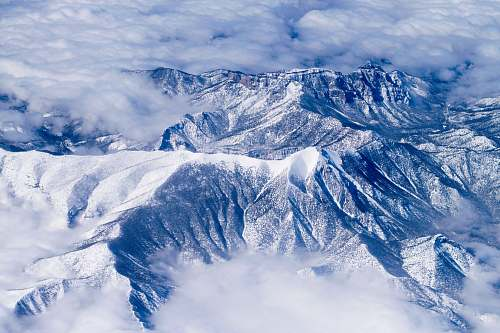 mountain aerial view of snow covered mountains snow