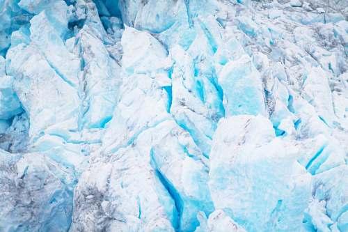 nature white rock glacier