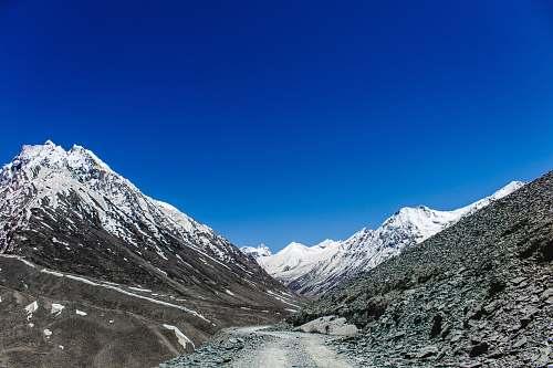 snow white snowy mountain glacier
