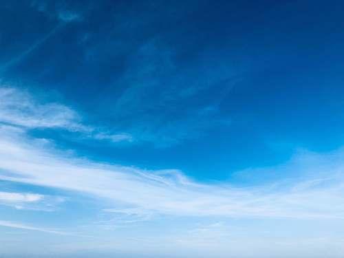 sky blue and white sky azure sky