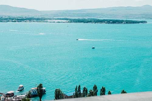 outdoors blue ocean land