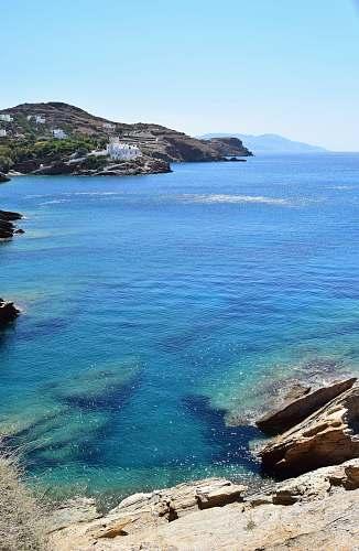 promontory body of water sea