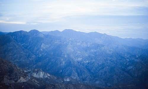 mountain brown mountain mountain range