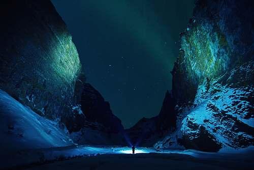 iceland northern lights night