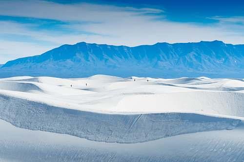 mountain photo of snow-covered mountain snow