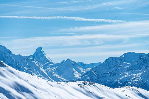 snow snow mountaints mountain