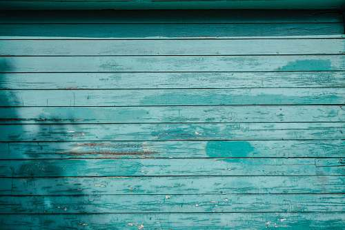 outdoors teal painted wall blue