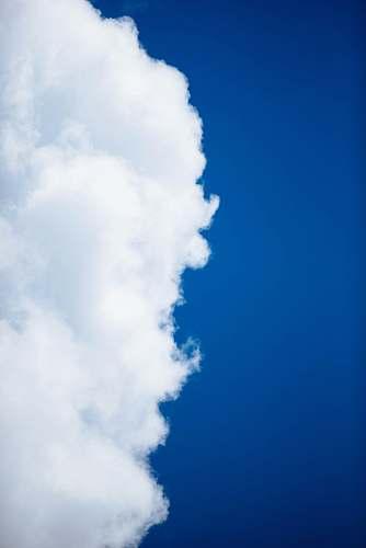 sky white clouds under blue sky azure sky