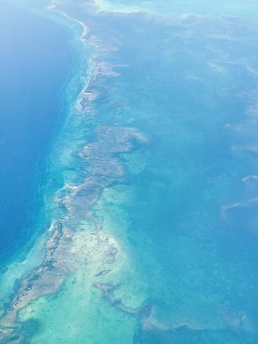 nature aerial photography of body of water land