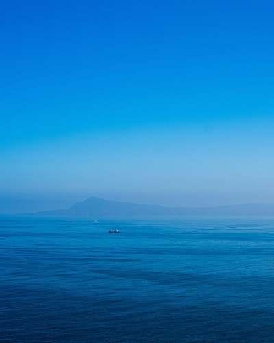 nature boat in ocean ocean