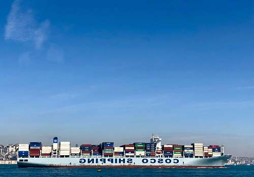 photo vehicle Cosco Shipping cargo ship cargo free for commercial use images