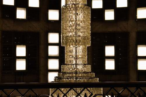 handrail crystal chandelier banister