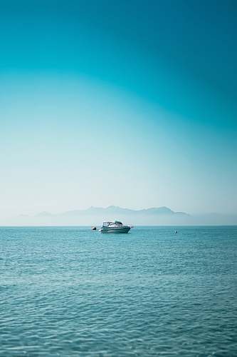 outdoors boat at the sea during daytime land