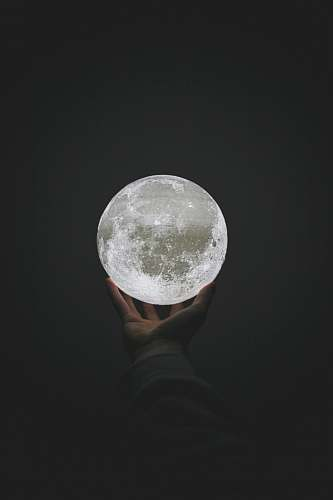 outdoors crystal ball photography moon