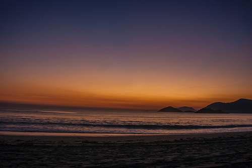 water photo of seashore beach